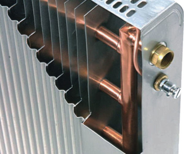 Расстояние между пластинами подобрано так, чтобы создавались турбулентные потоки воздуха.