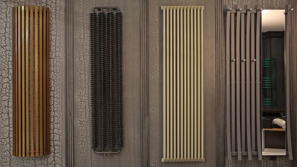 Разнообразие внешнего вида трубчатых радиаторов