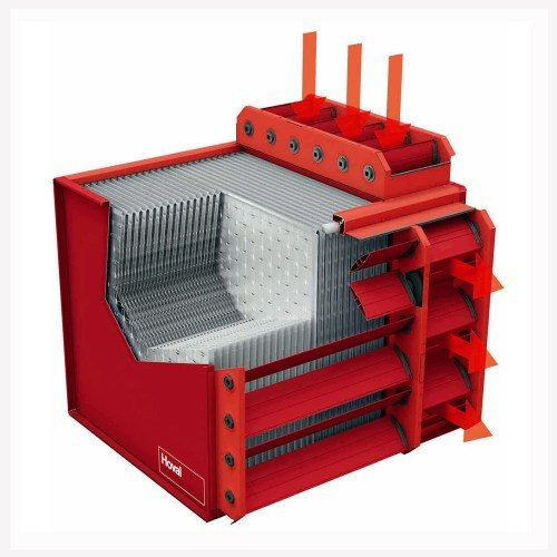 Ребристый теплообменник экономит 45% электроэнергии, уходящей на отопление.
