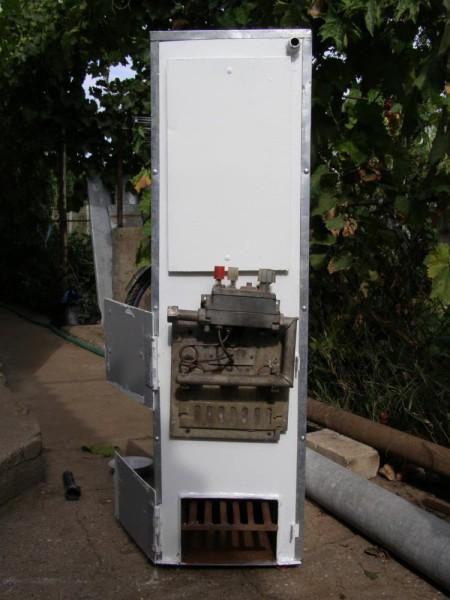 Самодельный агрегат для газа и твердого топлива