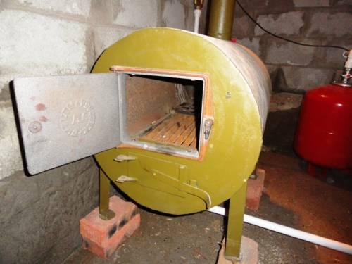 самодельный электрокотел для отопления