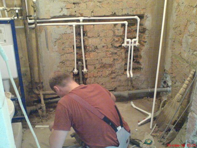 Как сделать водопровод из полипропилена