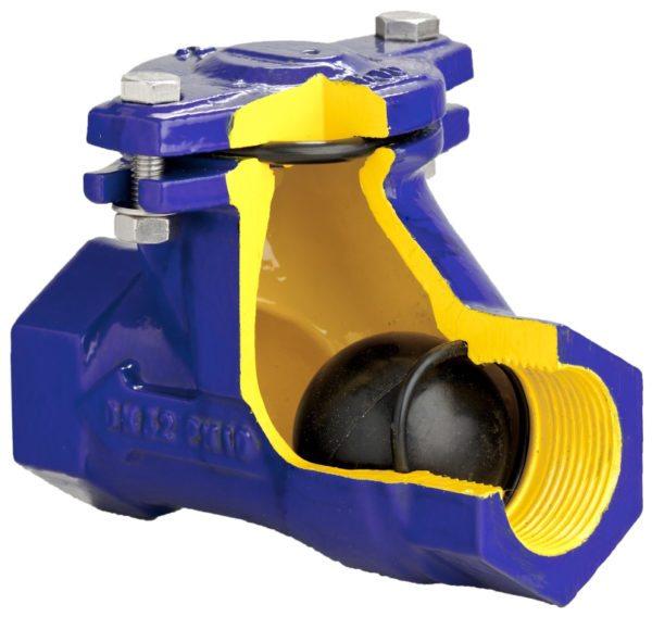 Шариковый клапан отличается от более распространенного пружинного максимальной чувствительностью срабатывания.