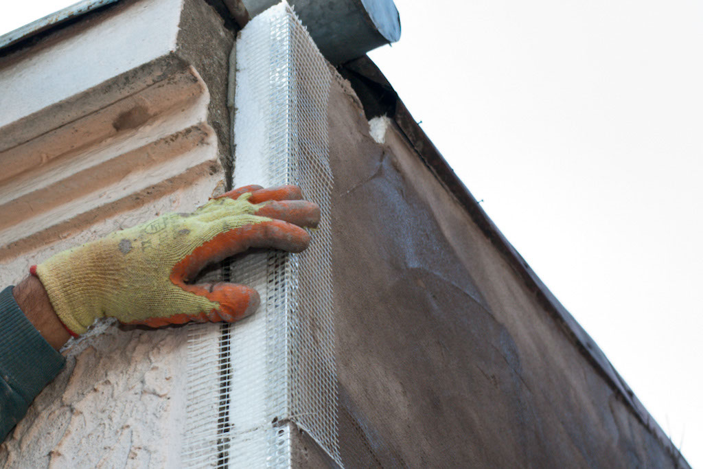 Шпаклевать фасад дома своими руками 81