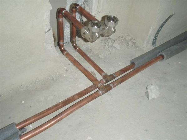 система отопления 2х этажного дома