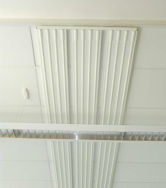 Системы водяного лучистого отопления в офисе