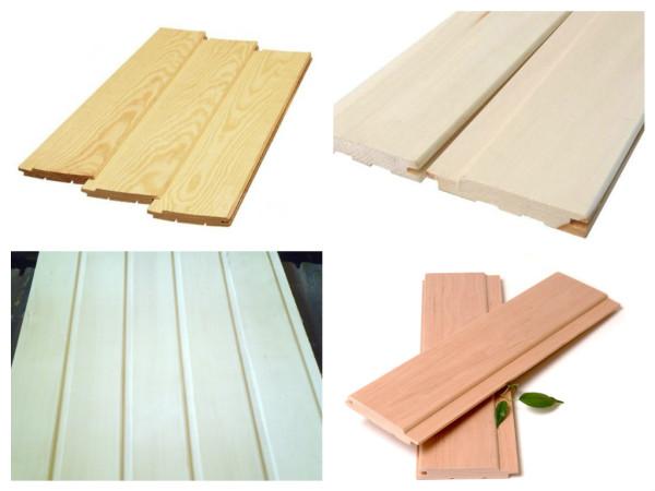 Слева-направо: лиственница, липа, осина и ольха. Как видите, древесина отличается и по цвету, и по фактуре, поэтому и этот фактор имеет значение