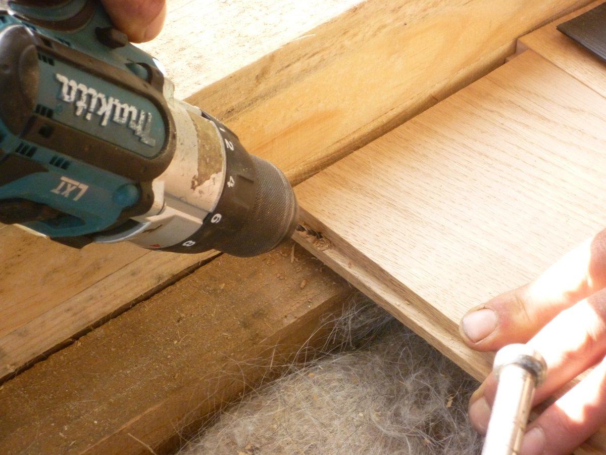 Настилка деревянных полов своими руками