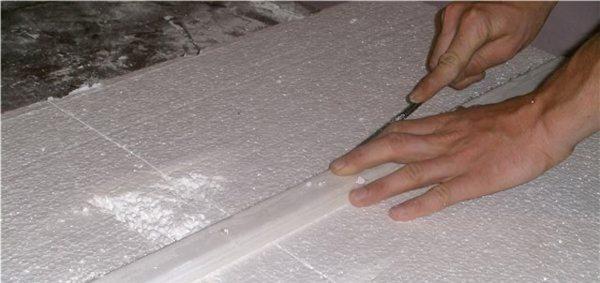 Как резать пенопласта в домашних условиях