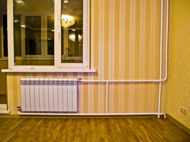 Установка алюминиевых радиаторов отопления в частном доме: и.