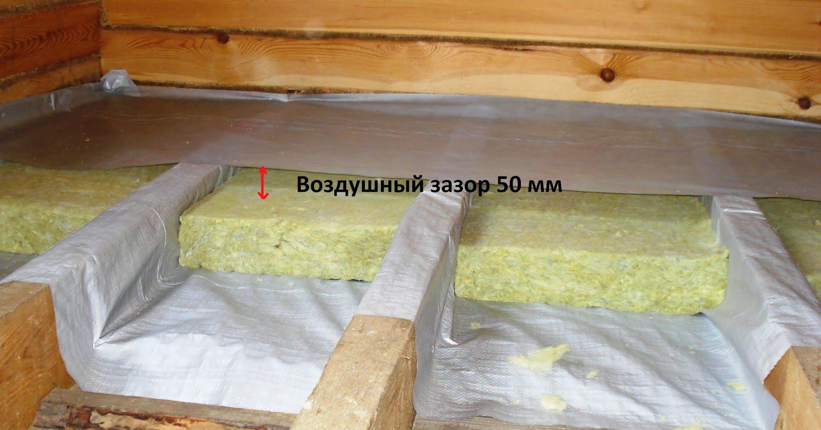 Как утеплить потолок в деревянном доме изнутри