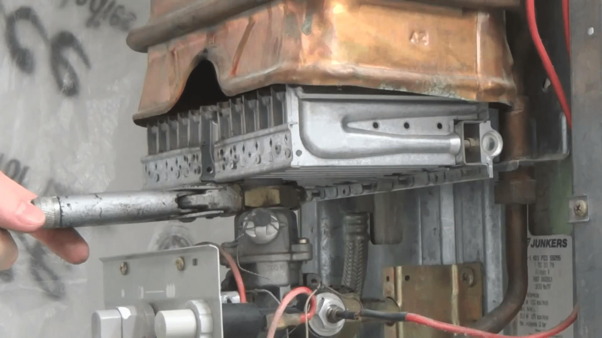 Ремонт газовой колонки бош 44