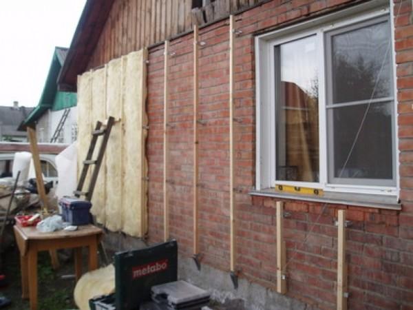 Теплоизоляция кирпичного дома снаружи