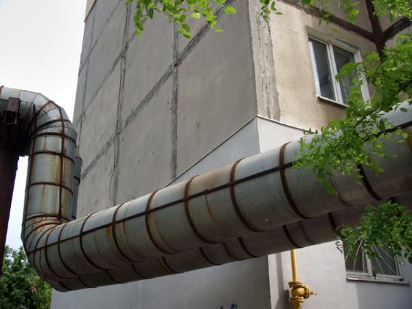 Тепловая магистраль централизованного отопления