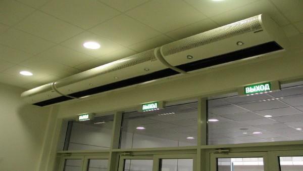 Тепловая защита, составленная из нескольких приборов.