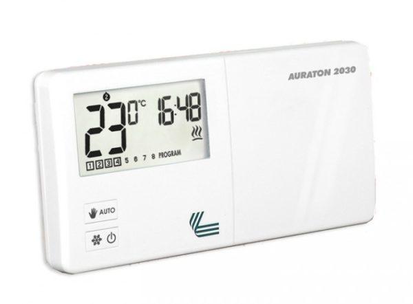 Терморегулятор будет автоматически управлять работой котла.