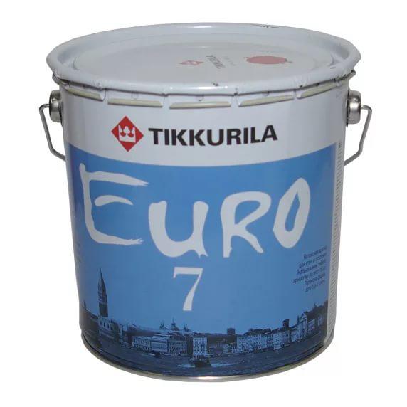 Tikkurila Euro 7 — качественная латексная краска от финского производителя