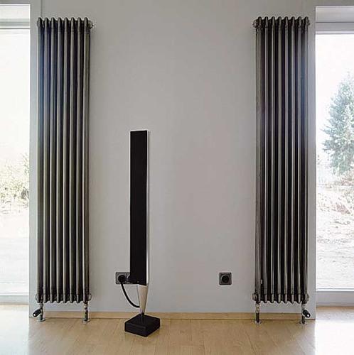 Точнее, под любой дизайн несложно подобрать вписывающийся в него радиатор.