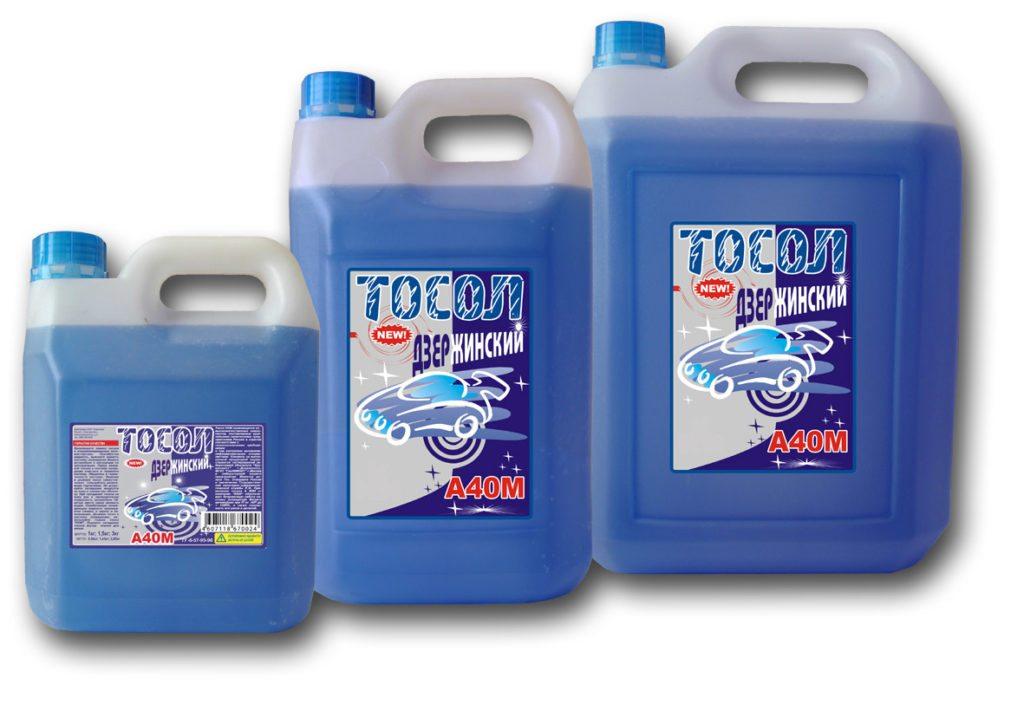 Тосол — антифриз для систем водяного охлаждения моторов.