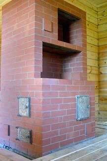 Традиционная конструкция отопительно-варочной печи