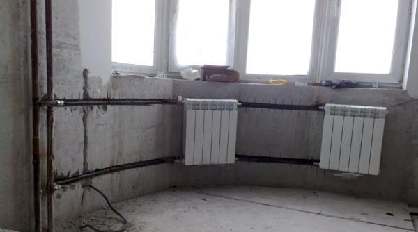 Центральное отопление требует большого запаса прочности.