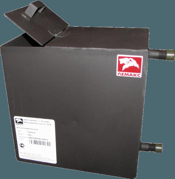 Устройство открытого бачка позволяет заполнить отопительный контур с помощью ведер или любой другой тары.