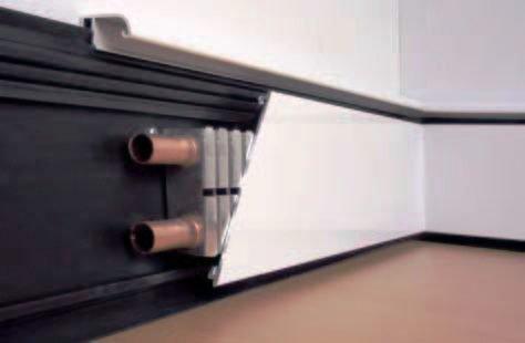 Устройство плинтусного отопления