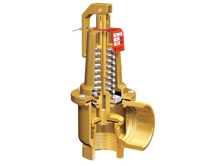 Клапан обратный подъемный для подогревателей высокого давления