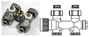 Узел подключения для радиаторов с нижней подводкой – сложное устройство, от которого во многом зависит работа системы
