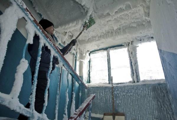 В холодной климатической зоне - особые требования к отоплению.
