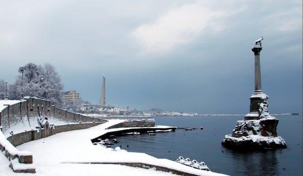 В Крыму с его благословенным климатом тоже бывают заморозки.