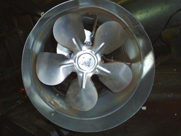 Вентилятор – важнейший элемент тепловоздушного обогревателя.