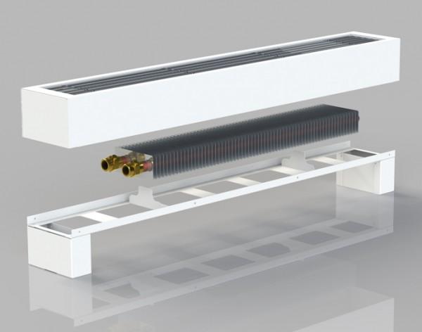 водяные конвекторы отопления напольные