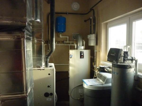 воздушная система отопления дома