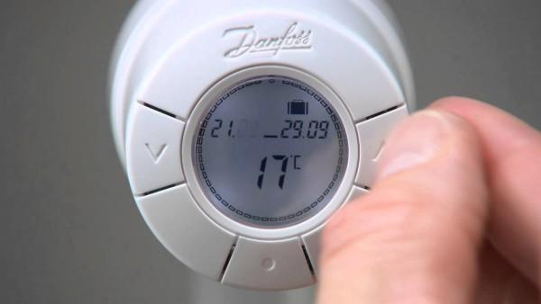 Вы можете своими руками назначить желаемый уровень нагрева помещения.