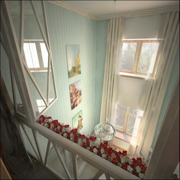 Высокие потолки дарят владельцу не только ощущение простора, но и проблемы с отоплением.