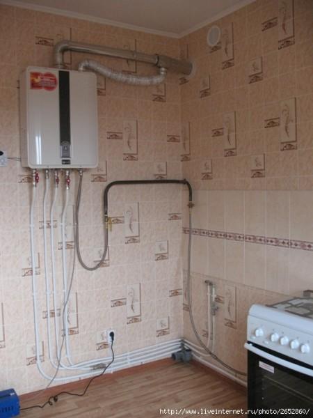 Зачастую новостройки комплектуются не стояками и розливами отопления, а газовыми котлами в каждой квартире.