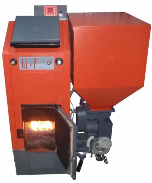 Загрузка твердого топлива все же может быть отчасти автоматизирована.
