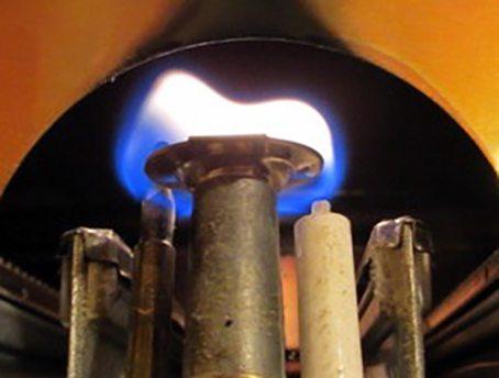 Запальник обеспечивает розжиг газовой горелки