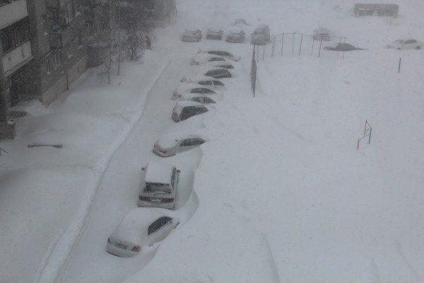 Зимний Комсомольск. Не Якутия, но тоже не сахар.